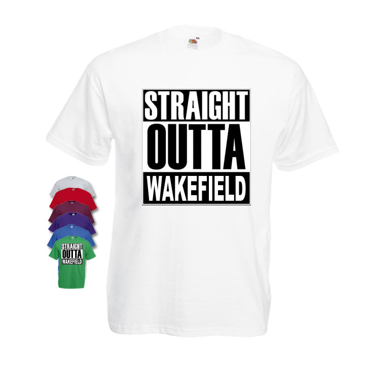 Straight Outta Wakefield Mens T-shirt